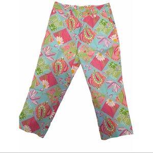 Vintage Lily Pulitzer Capri Pants, size 8